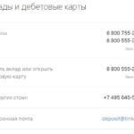 Контакты отдела Тинькофф по работе с вкладами